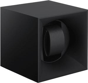 Шкатулка Swiss Kubik для 1 часов автоподзаводом. Корпус из пластика черного цвета.