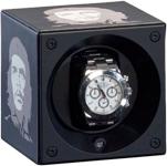 Модуль для автоподзавода 1 часов Swiss Kubik Watch Winder Che Guevara с функцией программирования. Вы можете поставить токоличество оборотов и направление вращения, которое подходит именно вашим часам