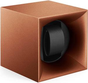 Шкатулка SwissKubik из коллекции StartBox для 1 часов автоподзаводом. Корпус из пластика цвета бронзы.