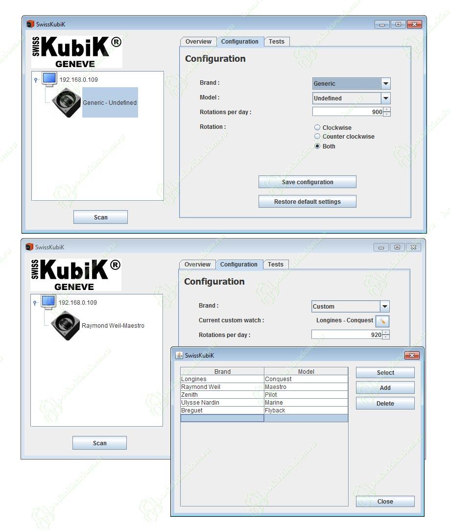 Swiss Kubik SK01.CV.COUTURE.ROSE