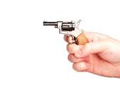 GUN Миниатюрная модель револьвера