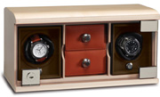 Модуль для подзавода 2 наручных механических часов и отделением для ювелирных изделий