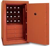 Сейф на 16 часов + 3 ящика для хранения часов и ювелирных украшений