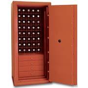 Сейф на 40 часов+4 ящика для хранения часов и ювелирных украшений