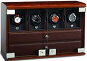 Бокс для подзавода 4 часов + отделение для ювелирных изделий + отделение для хранения самих часов.