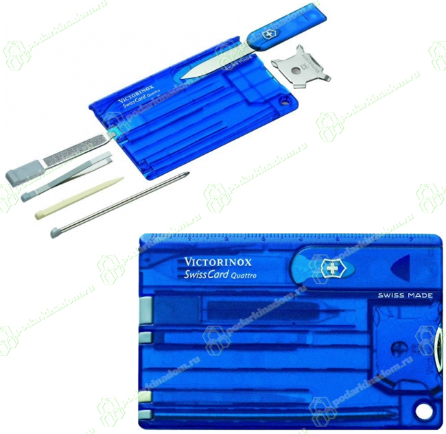 Ручка шариковая QUATRO 4 цвета в одной ручке карманный зажим