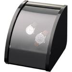 Шкатулка Elmamotion Style черная глянцевый лак. Обеспечивает все типы подзавода: по часовой стрелке, против часовой стрелки и переменное вращение.