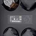 Коллекция Шкатулки для механических часов Corona 15 наименований стоимостью от 8500 до 319000 руб. Компания Elma, благодаря своему качеству и надежности, довольно длительное время, занимает лидирующие позиции в сфере шкатулок и механизмов для подзавода часов. С недавних пор, Elma усовершенствовала и одновременно упростила управление шкатулками, переведя их с механического управления на электронное. Шкатулки серии Corona, оснащены LCD дисплеем, это не только делает их более удобным, но и выводит их на новый более универсальный уровень