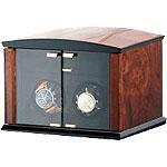 Шкатулка Elma Corona 2 для подзаводки часов. Изготовлена из натурального дерева, работает как о сети, так и от батареек, имеет практически бесшумный мотор, который просто не заметен, в повседневной жизни