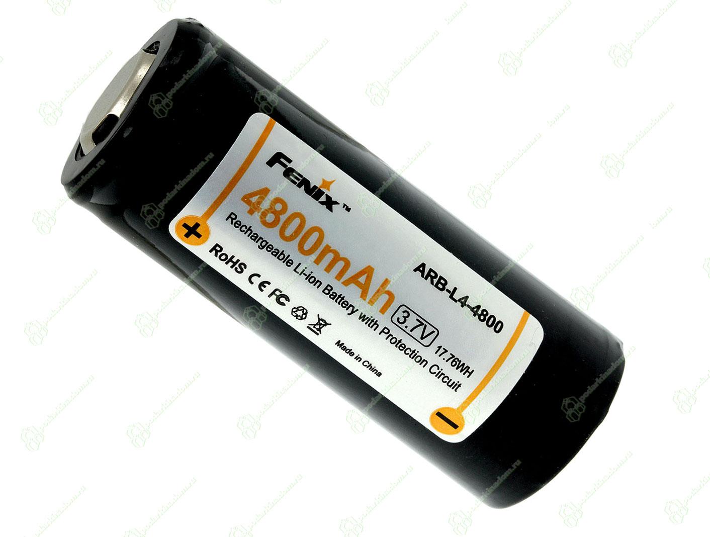 Li-ion Fenix 26650 4800 mAh