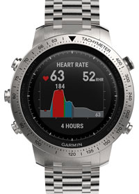 Garmin Chronos Steel 010-01957-02