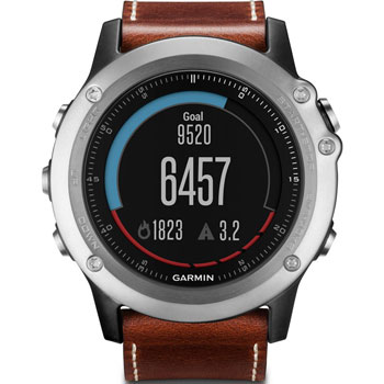 Garmin Fenix 3 Silver Leather 010-01338-62