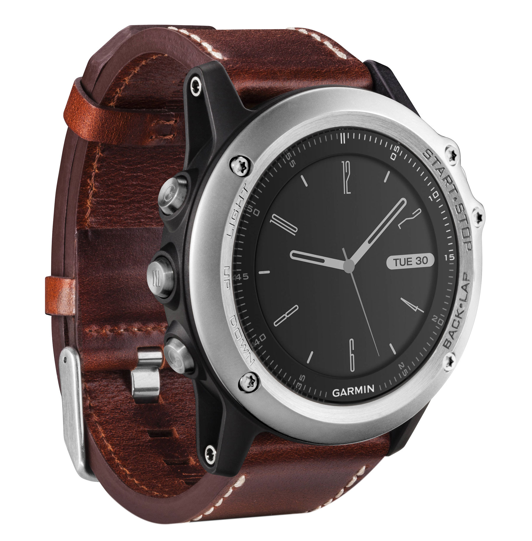 Garmin Fenix 3 Silver Leather 010-01338-62