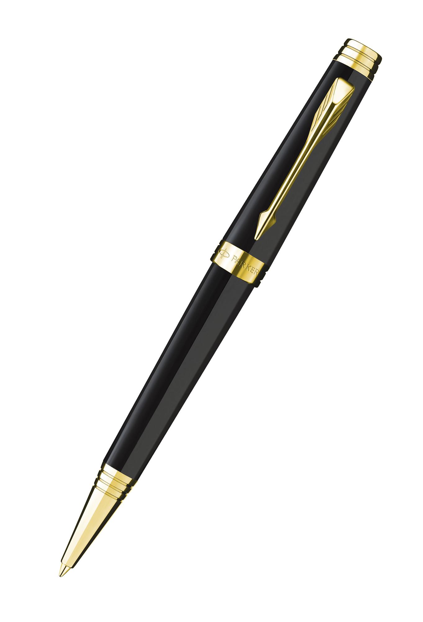 Шариковая ручка Parker Duofold K89 Black PT чернила черные S0690650