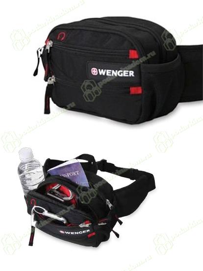 WENGER 18282167 Сумка поясная Wenger Funny Pack дорожная, для документов.